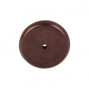 Aspen Round Backplate 1 3/4 Inch - Mahogany Bronze