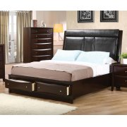 Phoenix Queen Panel Bed Product Image