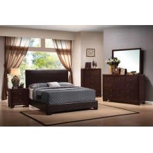 Conner Casual Dark Brown Eastern King Bed