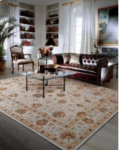 HERITAGE HALL HE28 LTB RECTANGLE RUG 27'' x 18''