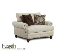 Fusion 2822 Anna White Linen Chair