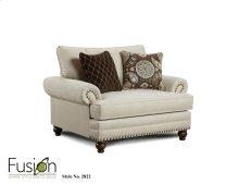 Fusion 2822 Anna White Linen Chair