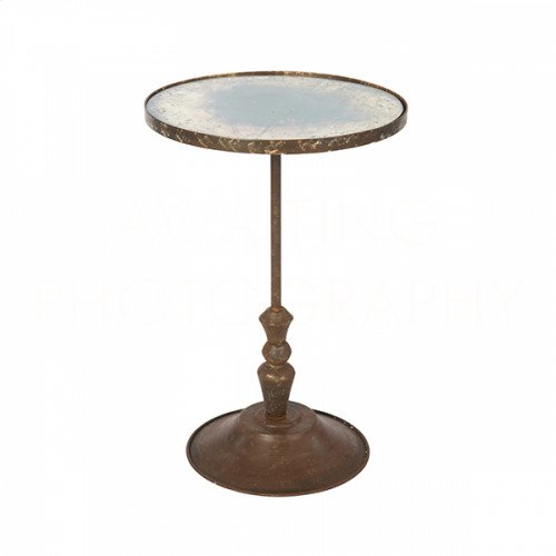 Fien Rustic Storm Occasional Table