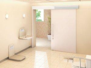 Barn Door Style Self-closing Door System Product Image