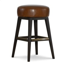 Leather Swivel Bar Stool