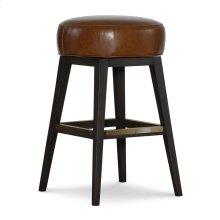 Leather Swivel Bar Stool