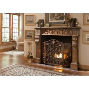 Rockefeller 3-Panel Fireplace Screen
