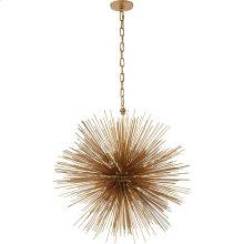 Visual Comfort KW5071G Kelly Wearstler Strada 20 Light 28 inch Gild Pendant Ceiling Light, Kelly Wearstler, Medium, Round