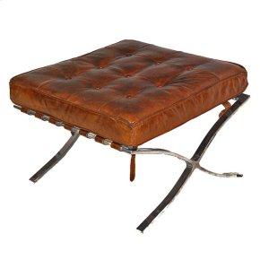 Artsome Decgan Leather Ottoman