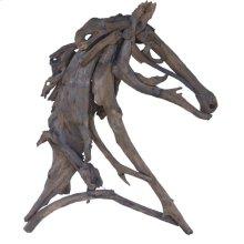 Equus Figure,Teak Branches