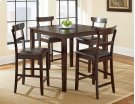 5 PIECE PUB SET (TABLE WITH 4 BARSTOOLS) Product Image