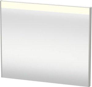 Mirror With Lighting, Concrete Grey Matt Decor Product Image