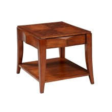 Frequency Drawer End Table