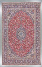"""KASHAN 000031590 IN RED NAVY 10'-5"""" x 17'-2"""" Product Image"""