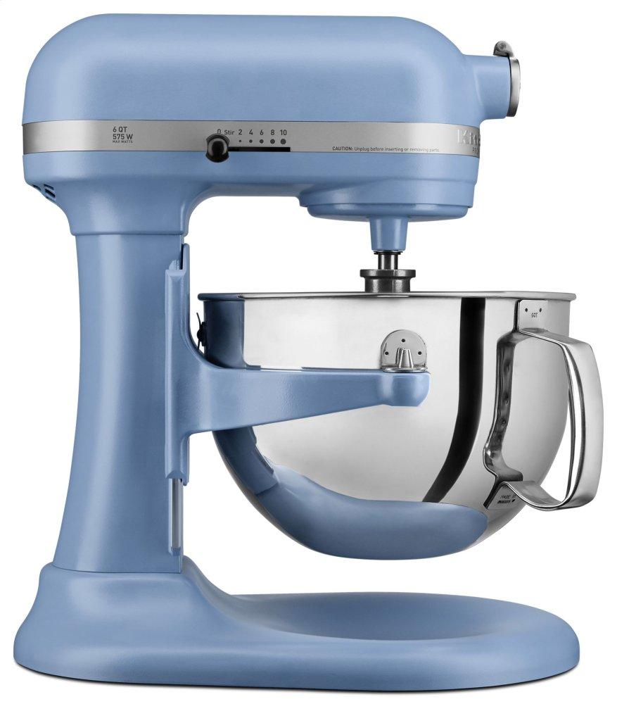 Pro 600 Series 6 Quart Bowl-Lift Stand Mixer - Matte Vintage Blue  MATTE VINTAGE BLUE