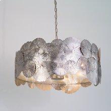 Lily Pad Pendant-Antique Nickel