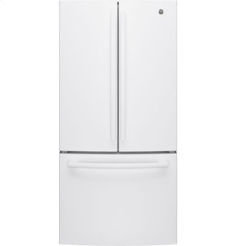 GE(R) ENERGY STAR(R) 18.6 CU.FT. COUNTER DEPTH FRENCH DOOR REFRIGERATOR W/ FACTORY INSTALLED ICEMAKER