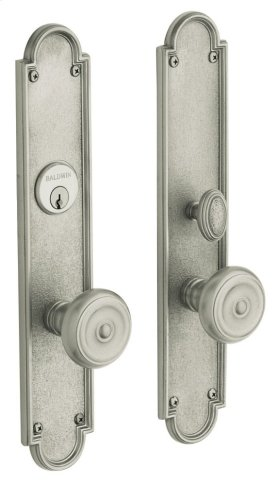 Satin Nickel with Lifetime Finish San Francisco Entrance Trim