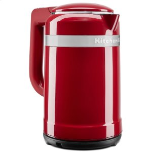 KitchenAid1.5 Liter Electric Kettle with dual-wall insulation - Empire Red
