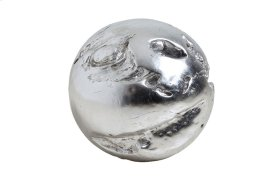 Cast Root Wall Ball Resin, Silver Leaf, MD