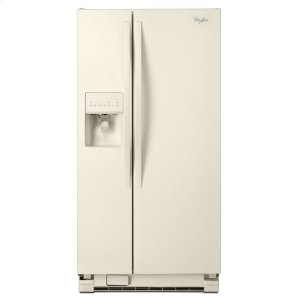 WHIRLPOOL33-inch Wide Side-by-Side Refrigerator with LED Lighting - 21 cu. ft.
