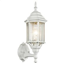 Chesapeake Collection Chesapeake 1 Light Outdoor Wall Light WH