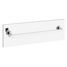 Glass shower door pull