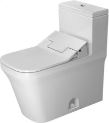 White P3 Comforts One-piece Toilet Duravit Rimless For Sensowash®