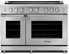 "48"" Heritage Gas Pro Range-SS Nat. Gas High Alt."