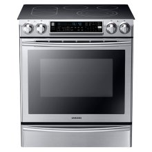 Slide-In Electric Range with Flex Duo Oven