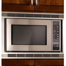 """Discovery 24"""" Convection Microwave in Black"""