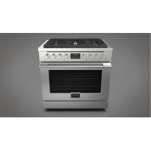 """36"""" All Gas Range - stainless Steel"""