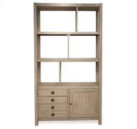 Perspectives Bookcase Etagere Sun-drenched Acacia finish Product Image