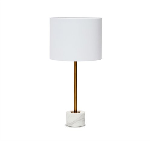 Beck Table Lamp - Arabescato