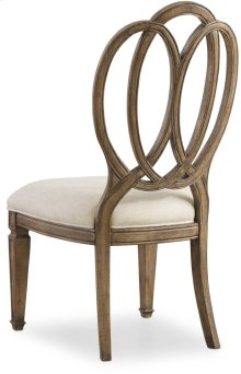 Solana Wood Back Side Chair
