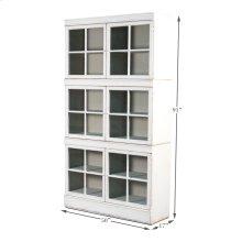 The White Belle Bookcase