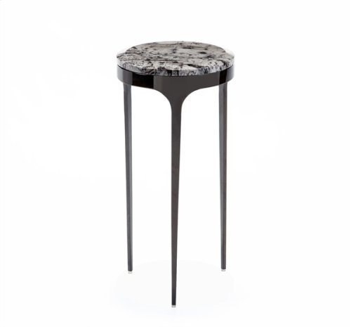 Camilla Drink Table - Grey Abstract