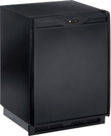 "Black 110V, Field reversible Marine/RV 24"" Freezer"