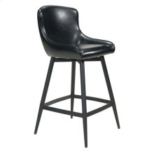 Dresden Counter Chair Black