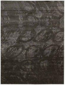 Silk Shadows Sha04 Coal Rectangle Rug 5'6'' X 7'5''