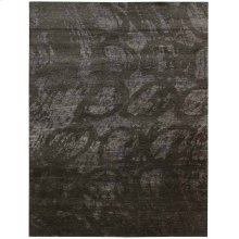 Silk Shadows Sha04 Coal Rectangle Rug 5'6'' X 7'5''
