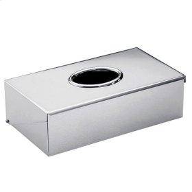 Tissue Box Rim or Wall Mounted 245 X 130 X 70 Mm