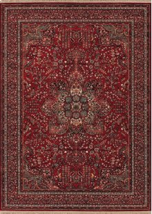 0612/3337 All Over Center Medallion / Antique Red Area Rugs