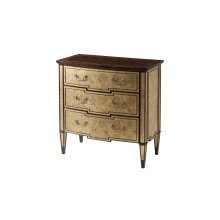 Tosca 'malborough Gold' Chest - Gilt Accents