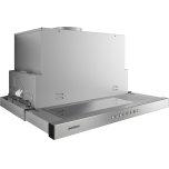 200 series visor hood AF 210 761 Stainless steel frame Width 23 9/16'' (90 cm) Air extraction / recirculation