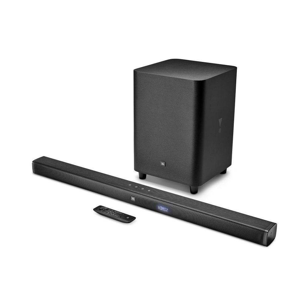 JBL Bar 3.1 3.1-Channel 4K Ultra HD Soundbar with Wireless Subwoofer  BLACK