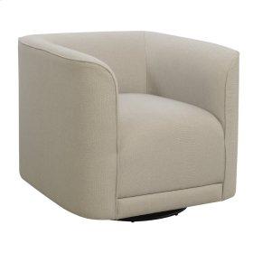 Swivel Accent Chair- Cream #dtt548-2