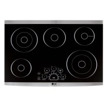 "LG STUDIO 30"" Electric Cooktop"