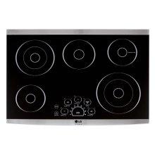 "LG STUDIO 30"" Electric Cooktop"