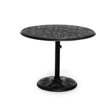 """42"""" Round Pedestal Chat Table 17""""h (available In 29""""h)"""